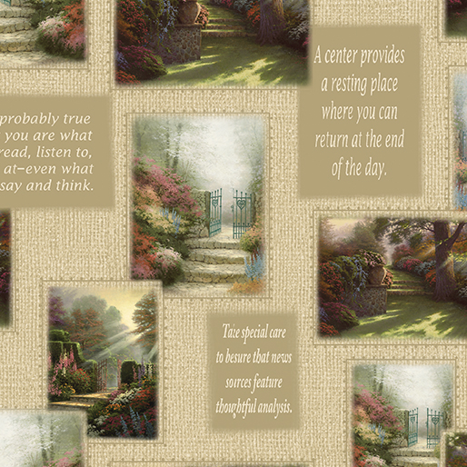 . Sew in Love  with Fabric   Thomas Kinkade s Inspirations for Living