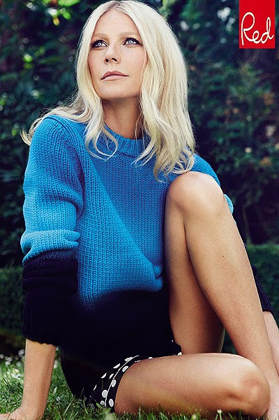Gwyneth Paltrow for red Magazine