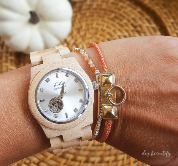 JORD wood watch for fall http://www.woodwatches.com/#diybeautify