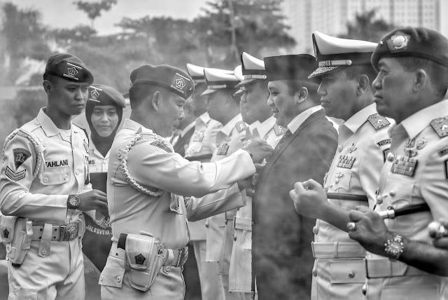 Ridho Ficardo Dikukuhkan Jadi Keluarga Kehormatan Polisi Militer, Ternyata Ini Alasannya