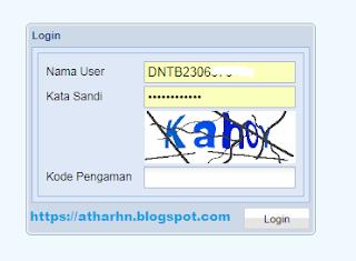 Login BIO UN SDN 4 Aikmel Lombok Timur