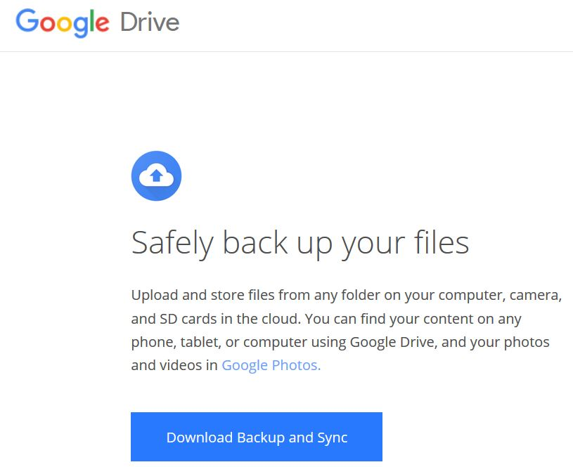 Reference Point: MMP - Sync a Folder to Google Drive