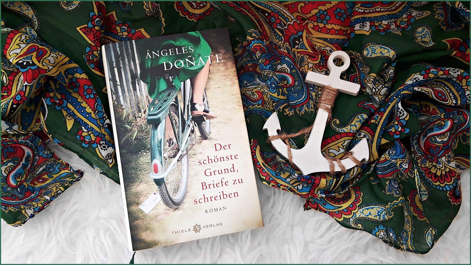 Rezension Der schönste Grund, Briefe zu schreiben Ángeles Donate