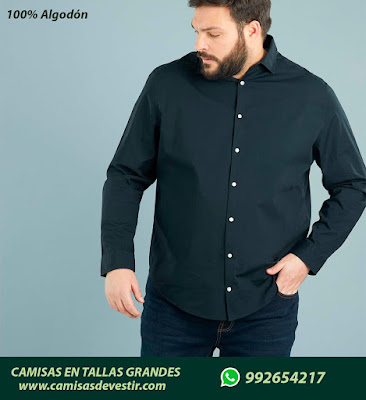 Camisas tallas grandes Huaraz