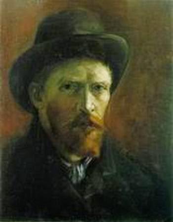 Самые дорогие художники. Винсент Ван Гог. «Автопортрет в темной фетровой шляпе»