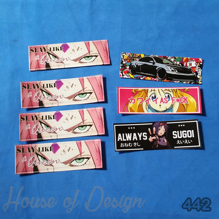 STICKER TRANSPARAN, STICKER CUSTOM, STICKER VINYL, STIKER KEMASAN, STICKER PRODUK, STIKER BOTOL, STICKER HELLO KITTY, STICKER MINI, STICKER KARTUN, STICKER DINDING, STIKER HIASAN, STICKER SLAP