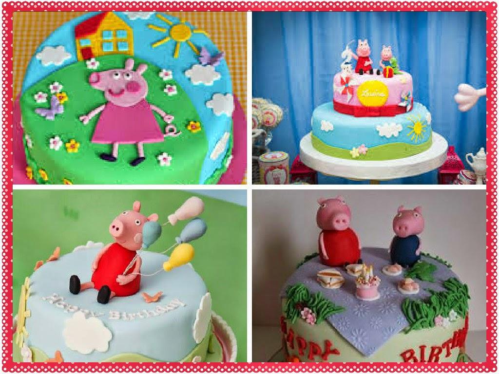 Bolo de Aniversário da Peppa Pig