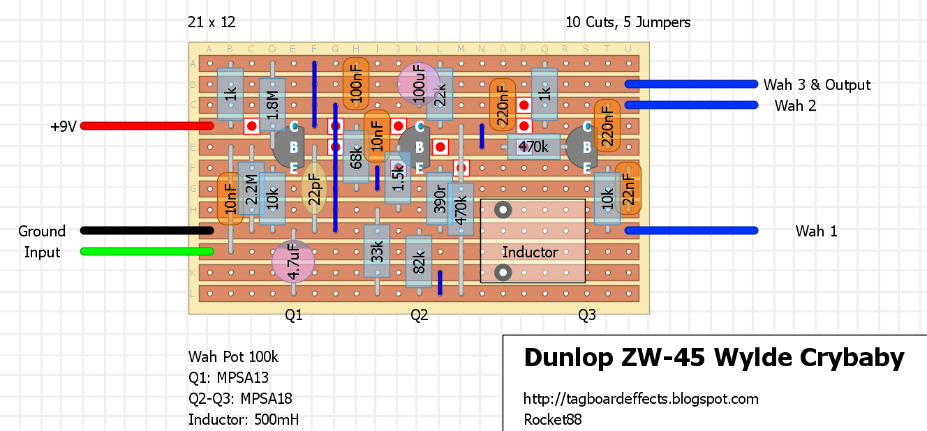 Guitar Fx Layouts  Dunlop Zw