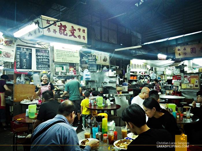 Hong Kong Walk TST Hawkers