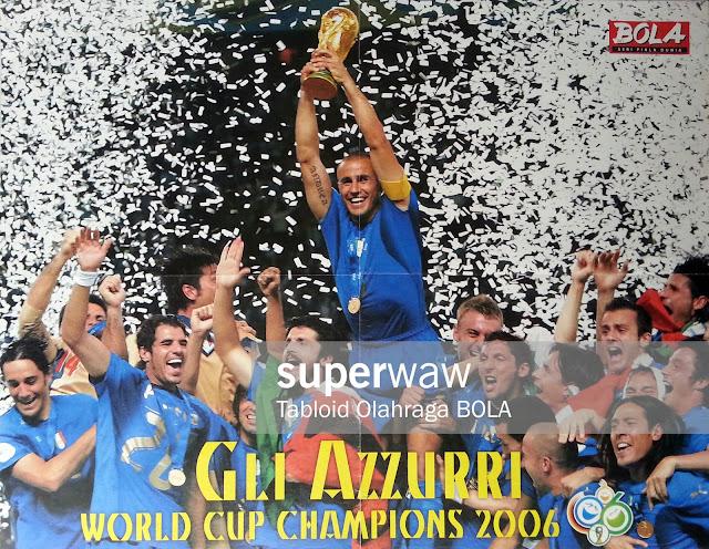 Gli Azzurri World Cup Champions 2006