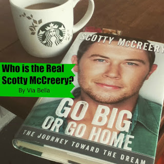 Who is the Real Scotty McCreery?, Book Review, Zondervan Publishers, Scotty McCreery, American Idol, Jennifer Lopez, Randy Jackson, Singer, Artist, Autobiography, Via Bella