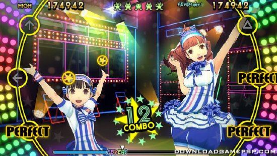 Persona 4 Dancing All Night - Download Game PSP PPSSPP