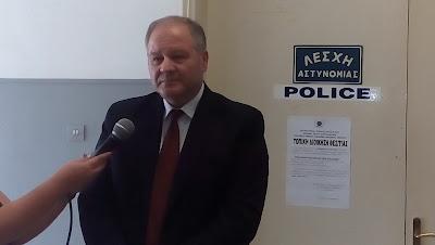 Ο Αρχηγός της Ελληνικής Αστυνομίας στην Ηγουμενίτσα (+ΒΙΝΤΕΟ)