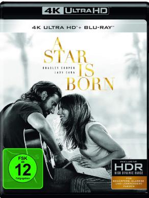 Nasce Uma Estrela Torrent 4K 20160p (2018) Dual Áudio / Dublado