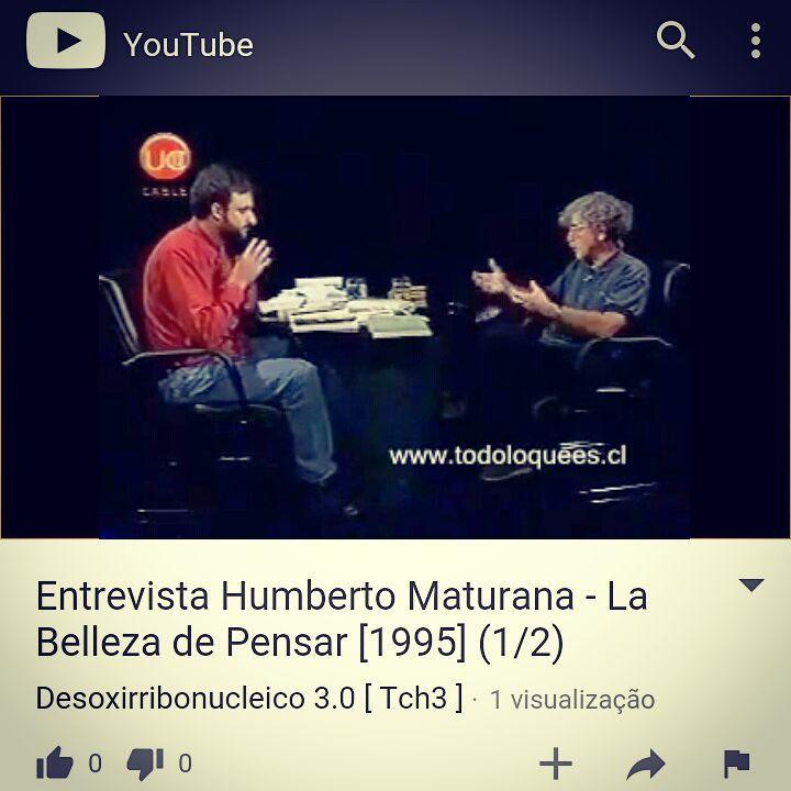 f5e7216c927 Humberto Maturana - transcrição entrevista