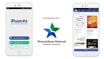 iPusnas merupakan aplikasi perpustakaan digital yang dapat digunakan untuk membaca buku apa saja secara gratis