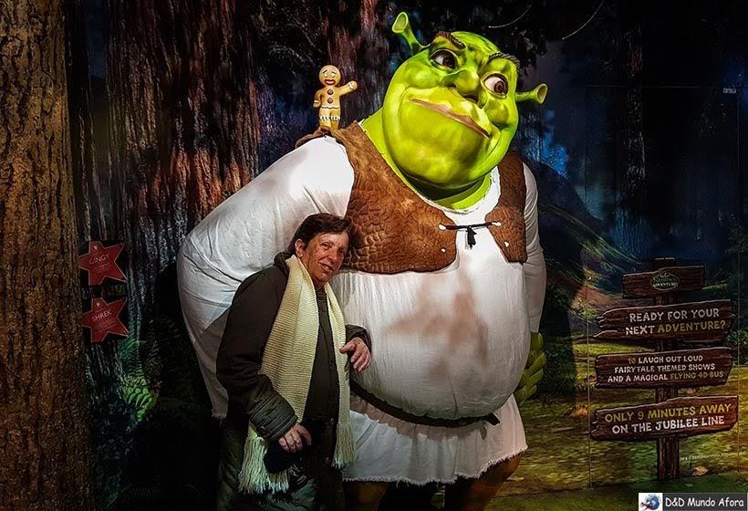 Shrek - Madame Tussauds: Como visitar o museu de cera de Londres