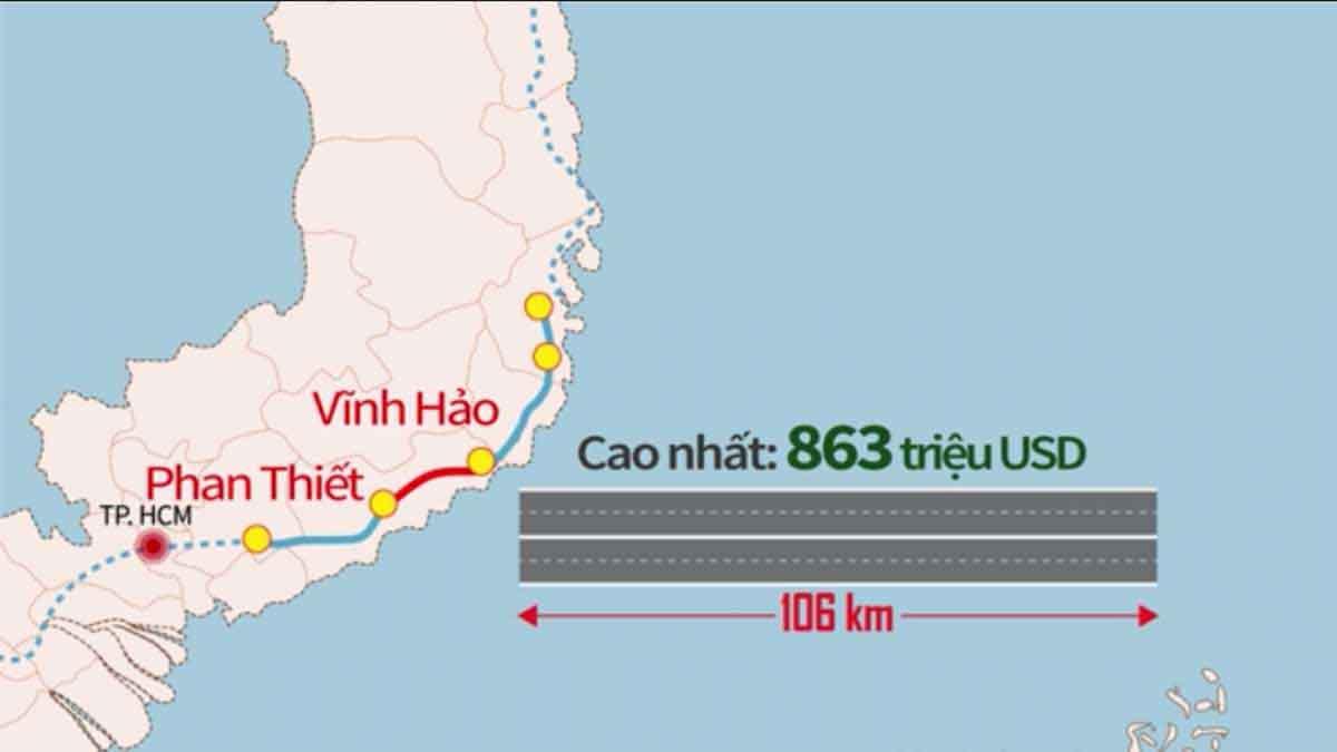 Cao tốc Vĩnh Hảo – Phan Thiết