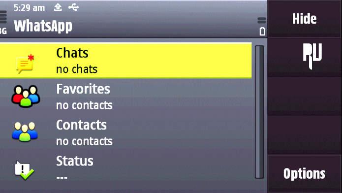 Whatsapp messenger v2. 3. 18 for java group chat, push.