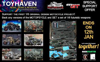 osw.zone Support Calvin's original design MotoPsycle Kickstarter Project - 85% funded, 10 days left!