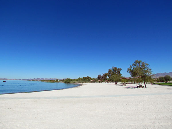 How Nice Windsor Beach 4 Is Coming Along It One Of Several Beaches At The Park Which Occupies Many Miles Lake S Right In Havasu City