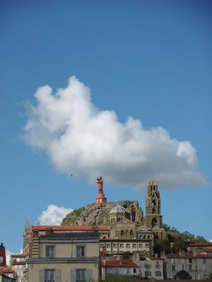 Cathédrale de notre dame de l'annonciation, art roman, le Puy, malooka