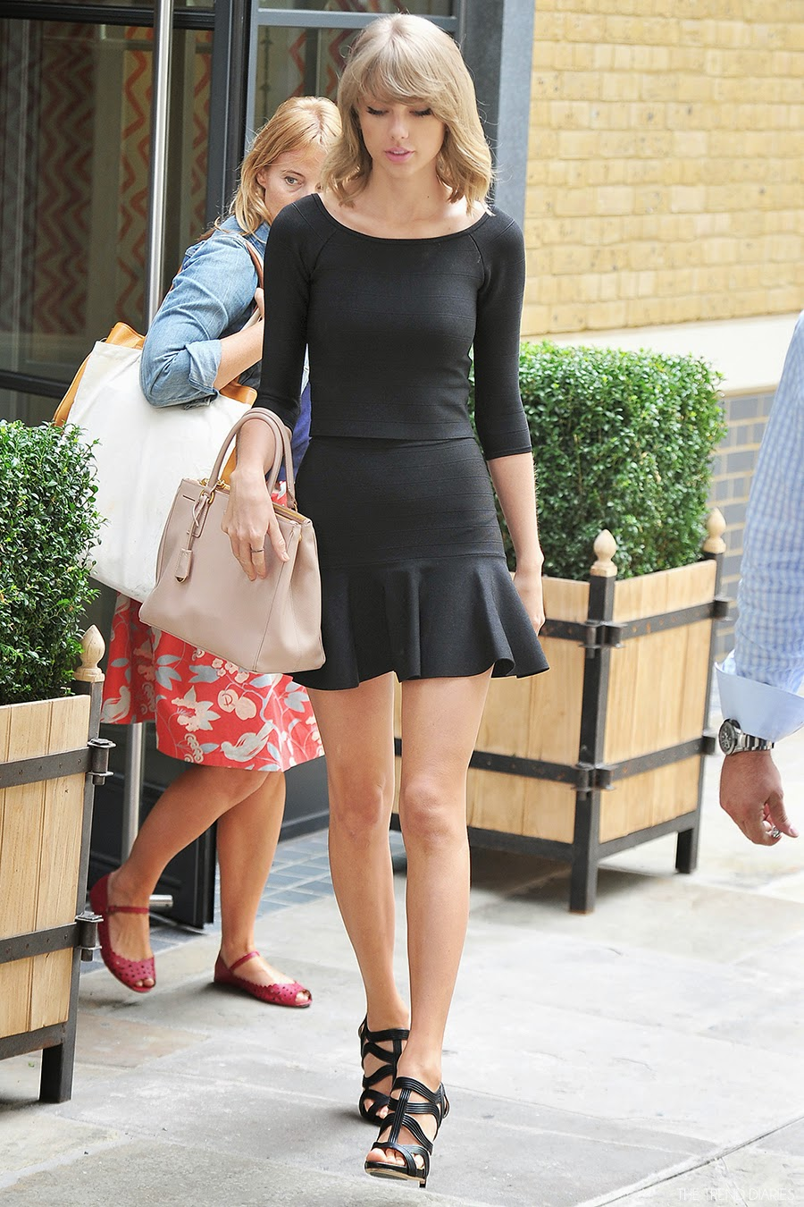 Taylor Swift At The Ham Yard Hotel In London England