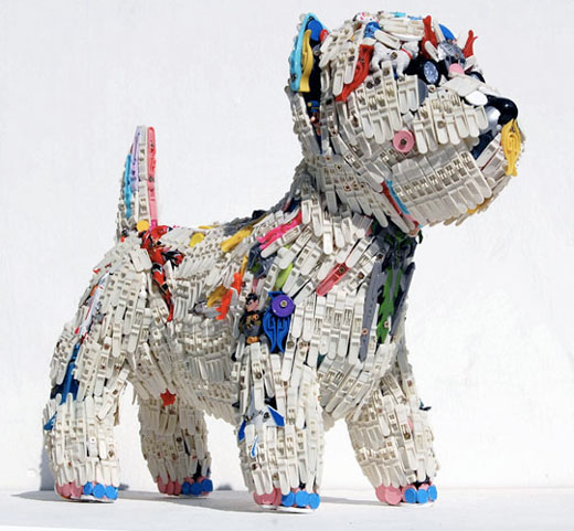 How To Recycle Recycled Art Sculptures From Throw Away