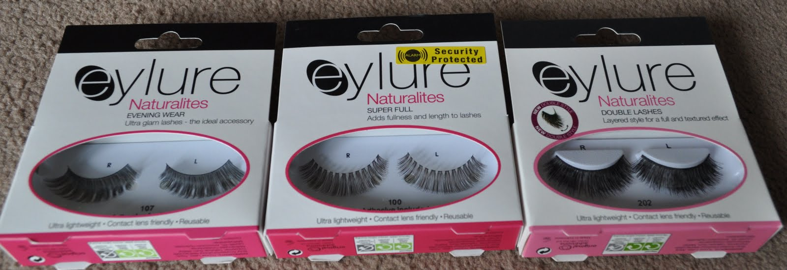 c63d9d8ce8b The styles 100 and 107 are evening wear and super full styles but are very  natural styles, the 202's are massive in your face double lashes, these are  the ...