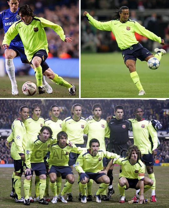 Football Teams Shirt And Kits Fan Fc Barcelona 2005 06 Away Kits