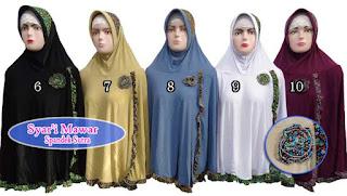 Update jilbab syar'i mawar desain terbaru