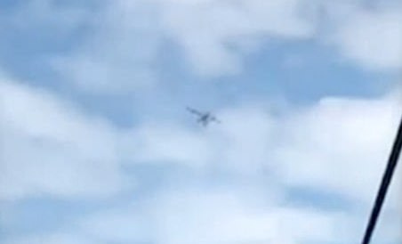 Seconds from disaster: Plane caught on camera moments before it crashed killing all including  an 11-year-old boy