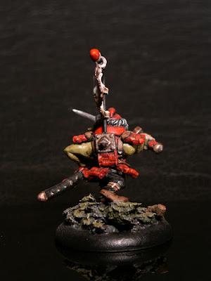 Goblin samurai conversion D&D character