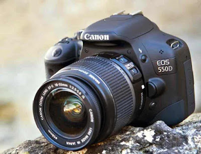 Harga dan Spesifikasi Kamera Canon 550D