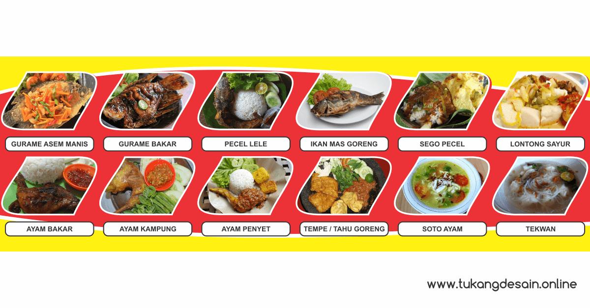 Banner Menu Makanan - Gibazz.Com