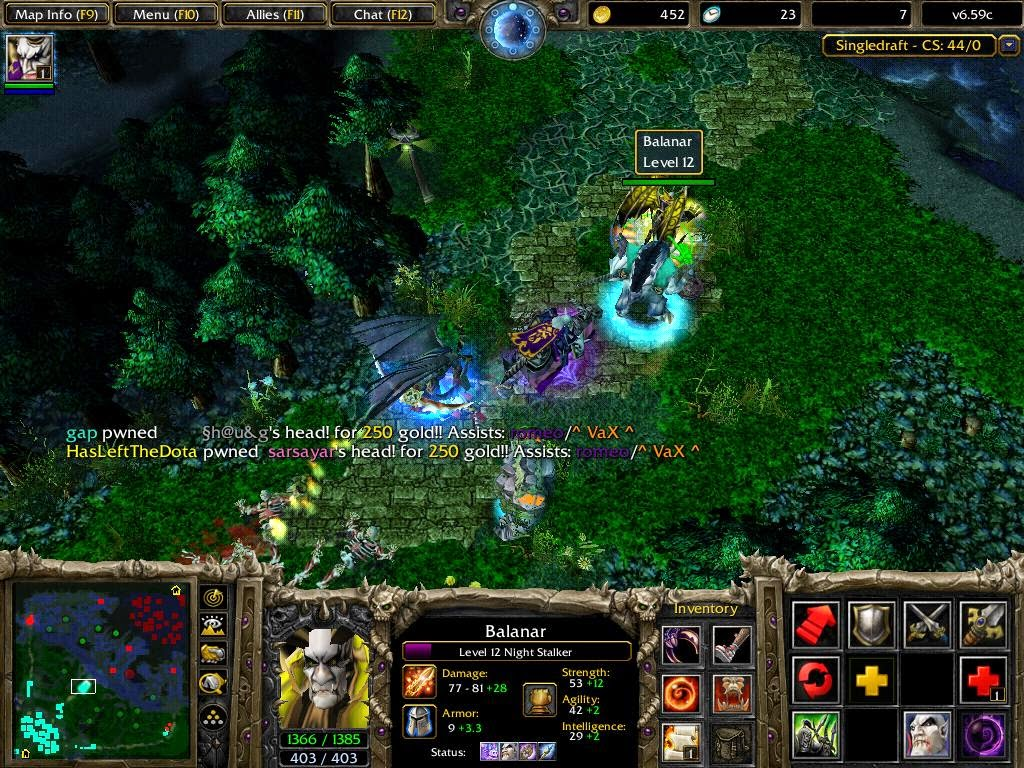 Warcraft 3 Dota Defence Of The Ancients