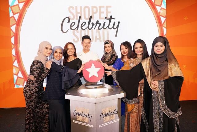 Memperkenalkan Skuad Selebriti Shopee Yang Baru