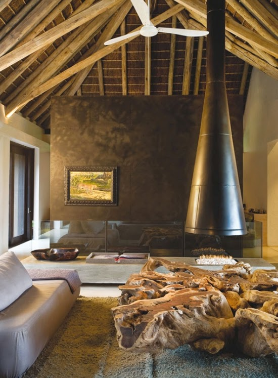 Safari Fusion blog | Contemporary farmhouse | Refined organic style residence in South Africa's lowveld