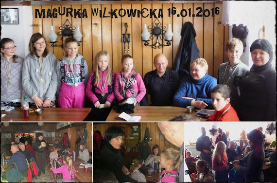 Beskid Mały, Magurka Wilkowicka (909 m n.p.m.), 16.01.2016.