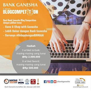 Selangkah Lebih Maju Bersama Bank Ganesha Menuju Nasabah Perbankan