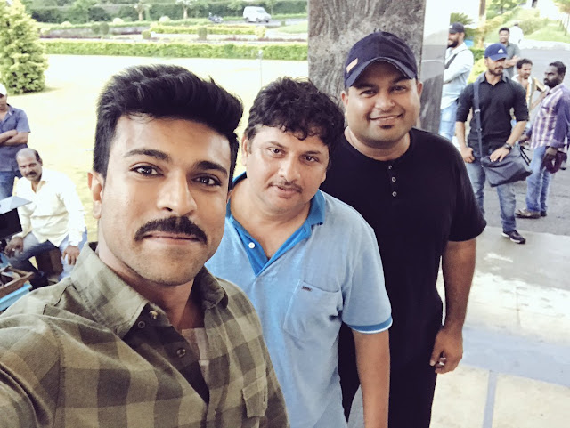 Dhruva Telugu movie working stills
