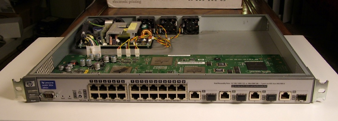 The Life of Kenneth: Tear-Down of an HP ProCurve 2824