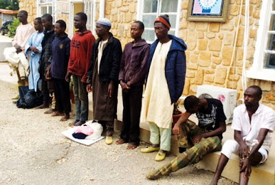 Killings In Plateau: 21 Suspects Arrested (Photo)