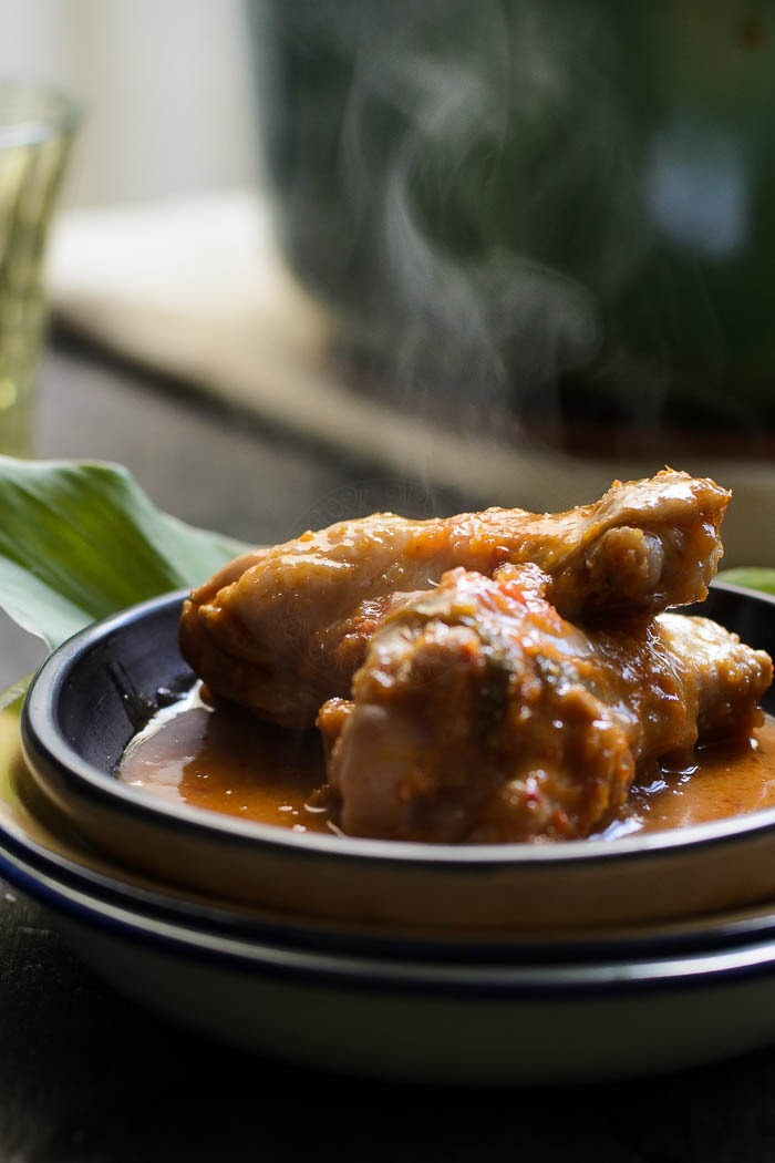 Malaysian Chicken Rendang recipe