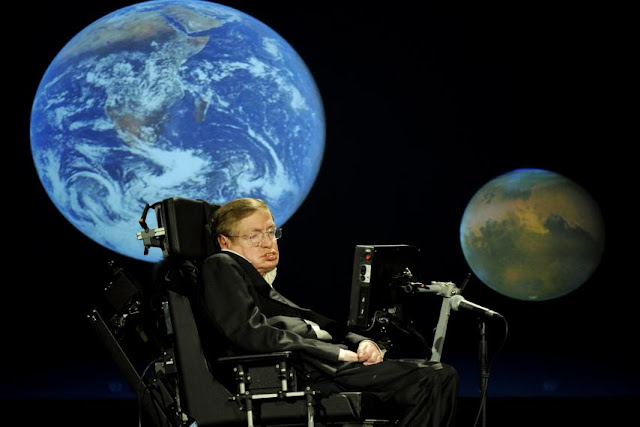 Great physicist Stephen Hawking