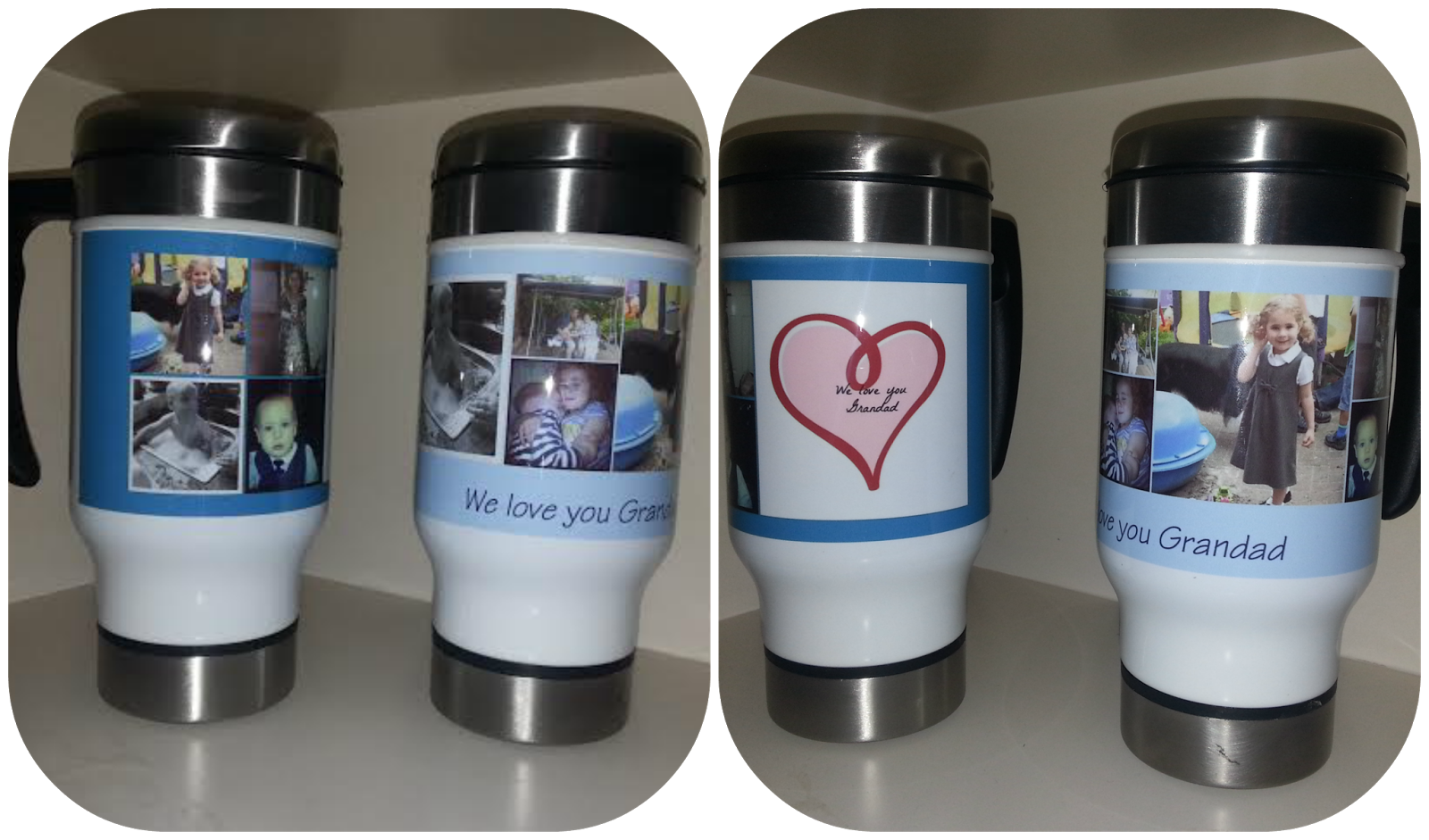 Sip in style with photo mug-making tips Perk up your pantry with one or more of our custom photo mugs. Brew a cup of coffee or tea with a unique personalised photo mug that you or your loved ones will enjoy.