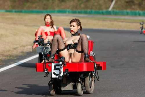 Dildo Cart Ride 6