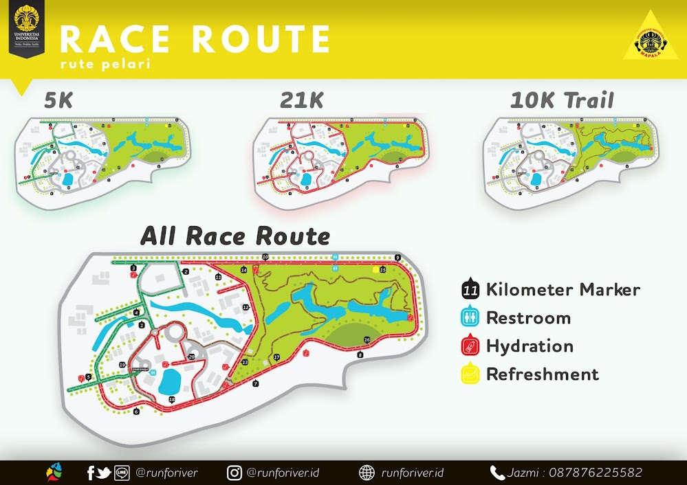 RunForiver • 2018 Route Map