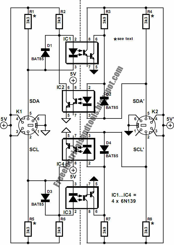 Free Schematic Diagram: Design of Electrical Isolation For