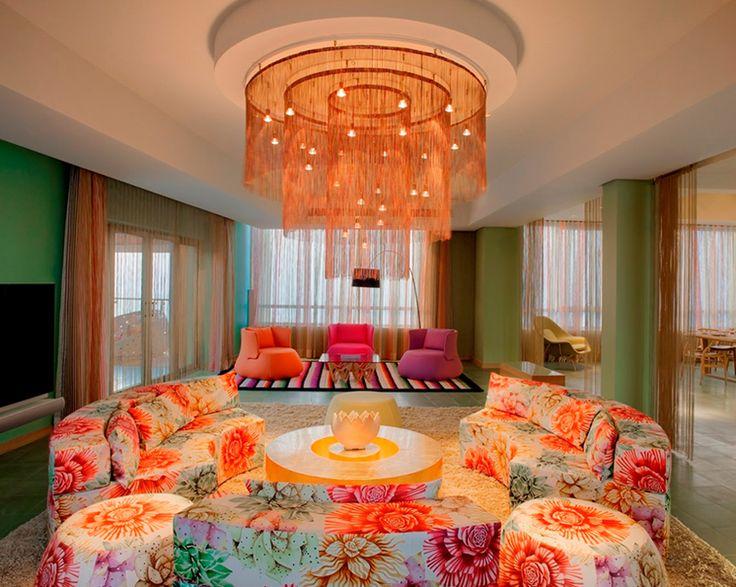 Home Decor Modern Flower Pattern Sofa